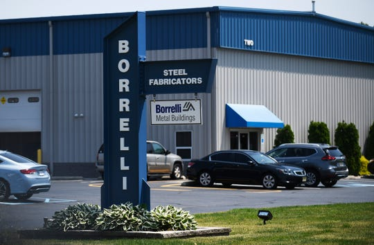 Borrelli Steel Fabricators at 2800 Industrial Way in Vineland Industrial Park-South.