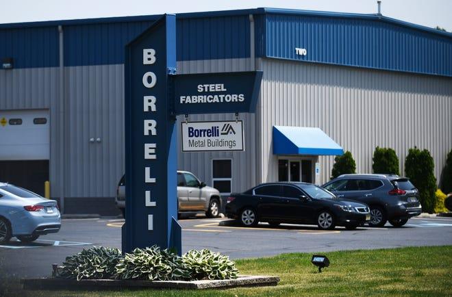 Borrelli Steel Fabricators at 2800 Industrial Way in Vineland Industrial Park-South.
