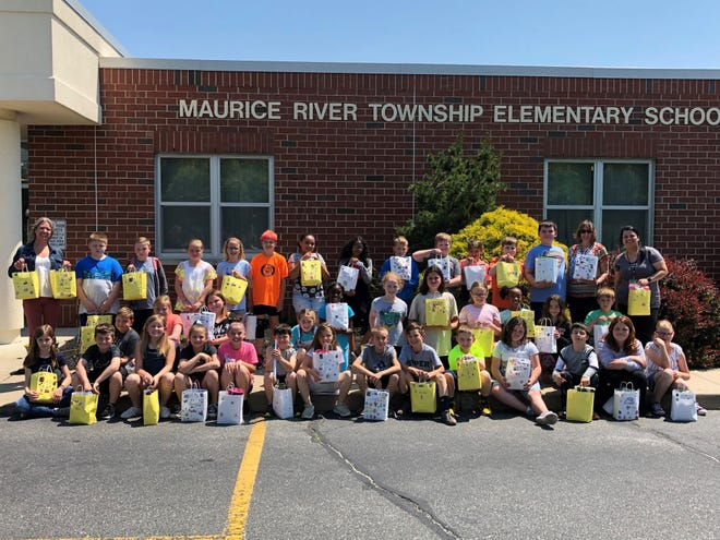 Fourth graders from Maurice River Township Elementary School and the community came together to make 60 comfort bags and many other donations for the patients of Southern Oncology Hematology Associates in Vineland.