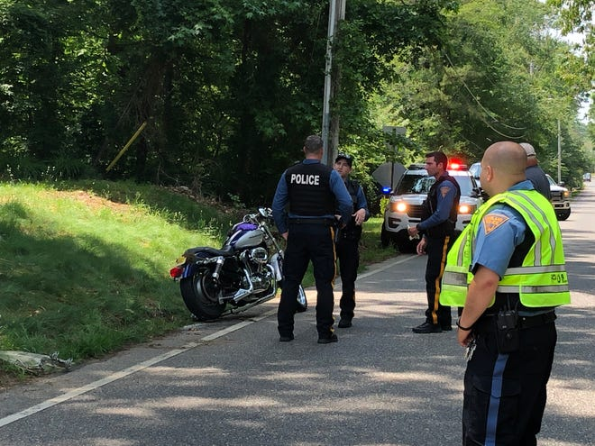 A motorcyclist was injured in a collision with a truck along West Arbor Avenue in Vineland on May 29, 2019.