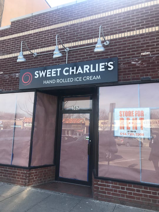 Sweet Charlie's in Mamaroneck has closed, though the owner said he's looking for another location.