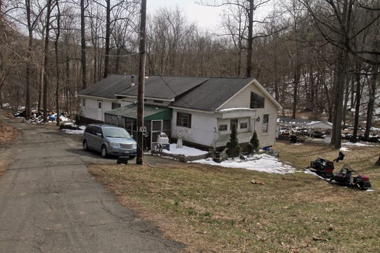 The home of John and Tammy Palmer in Haverstraw, photographed March 24, 2013.