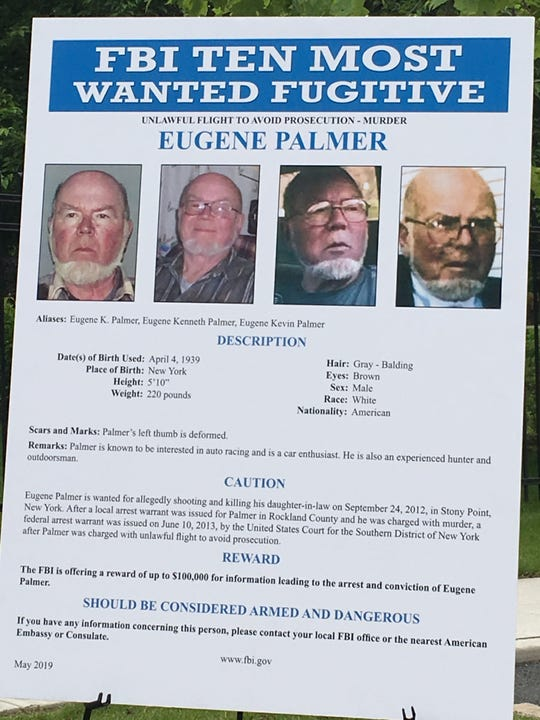 Eugene Palmer was added to the FBI's Ten Most Wanted Fugitives List on Wednesday.