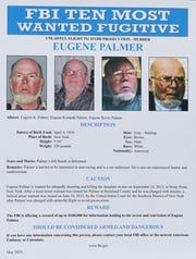 FBI officials announce that Eugene Palmer, who went on the run after allegedly killing his daughter-in-law, has been added to the agency's Ten Most Wanted Fugitive List May 29, 2019 at their offices in Rye.