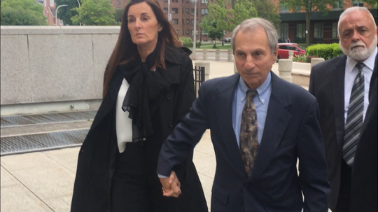 Guy Parisi leaves U.S. District Court in White Plains May 29, 2019, after he was sentenced to six months in prison for trying to bilk an estate out of more than $550,000