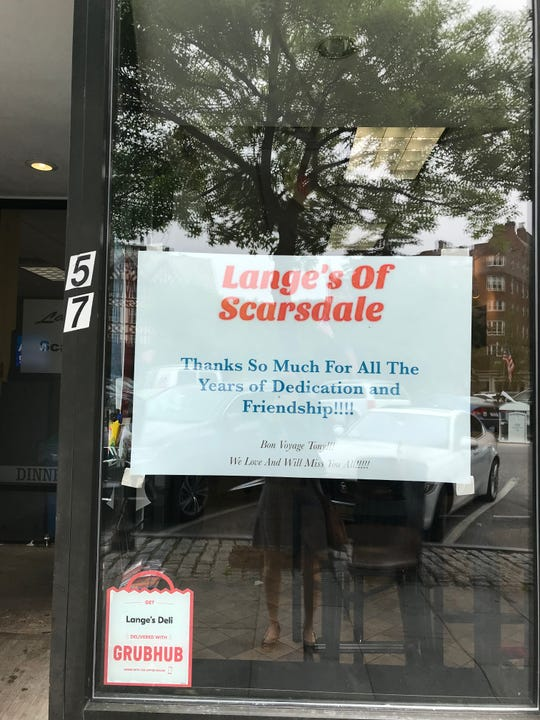 Lange's of Scarsdale is closing after 47 years.