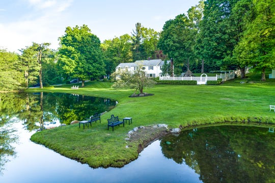 The four-bedroom Colonial at 4 Bittersweet Lane in New Castle has been a home of TV personality and cookbook author Sandra Lee and her partner, Gov. Andrew Cuomo. The house is on the market for $2 million.