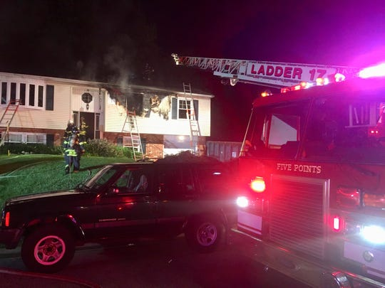 A fire in the 200 block of Mitchell Drive has been ruled accidental.