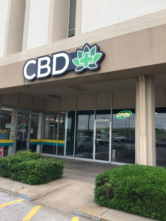 CBD Plus USA's Wichita  Falls Store is one of two CBD shops that recently opened here.