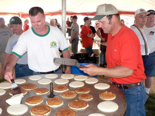 Pancakes for all cooked by experts.