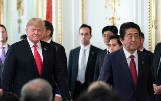 Trump is likely to press Japan to make concessions, particularly on increased access to its agricultural market to appease American farmers and ranchers amid the 2020 presidential race, according to analysts.