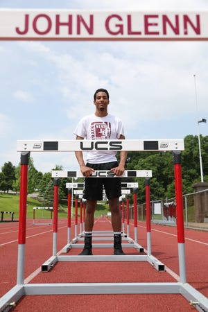 Defending two-time state champion John Glenn High School senior Joseph Clifford is heading back to the state track meet to compete in the 110 and 300 meter hurdles, as well as the high jump.