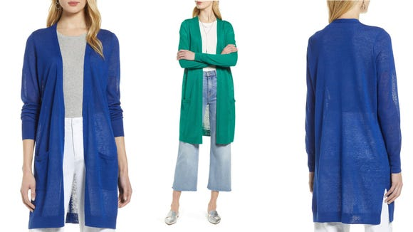 You can pair this cardigan with anything and look chic.