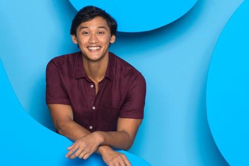 "The new host of ""Blue's Clues,"" Joshua Dela Cruz, on Nickelodeon."