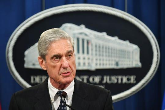 Russia Special Counsel Robert Mueller