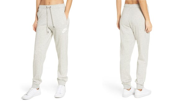 The sweatpants that say: I definitely haven't given up on life—yet.