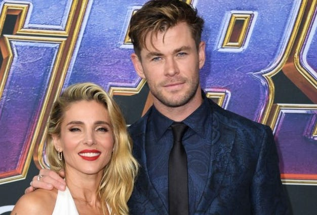 Chris Hemsworth And Wife 'butt Heads Occasionally,' But