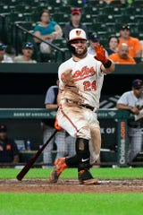 Orioles outfielder DJ Stewart is 'a part of the future,' sayd manager Brandon Hyde.