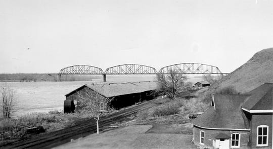 Built in 1883 using state-of-the-art construction methods, the majestic Bismarck-Mandan Rail Bridge was the first to span the Upper Missouri River.