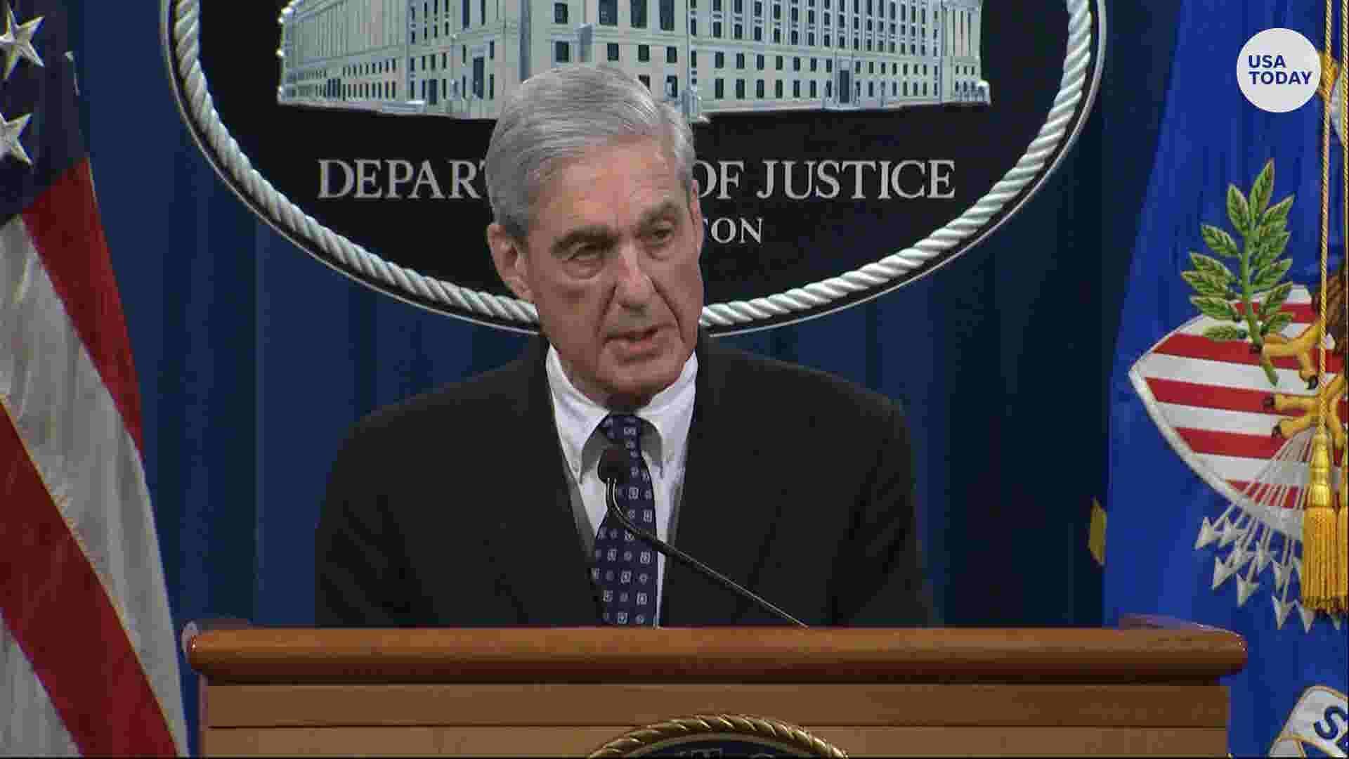 Robert Mueller breaks silence on Russia probe