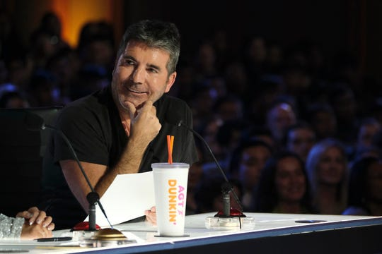 'America's Got Talent' judge Simon Cowell had an amusing conversation with Brian Miser, aka The Human Fuse, who had himself set aflame and shot into the air via giant crossbow on Tuesday's Season 14 premiere.