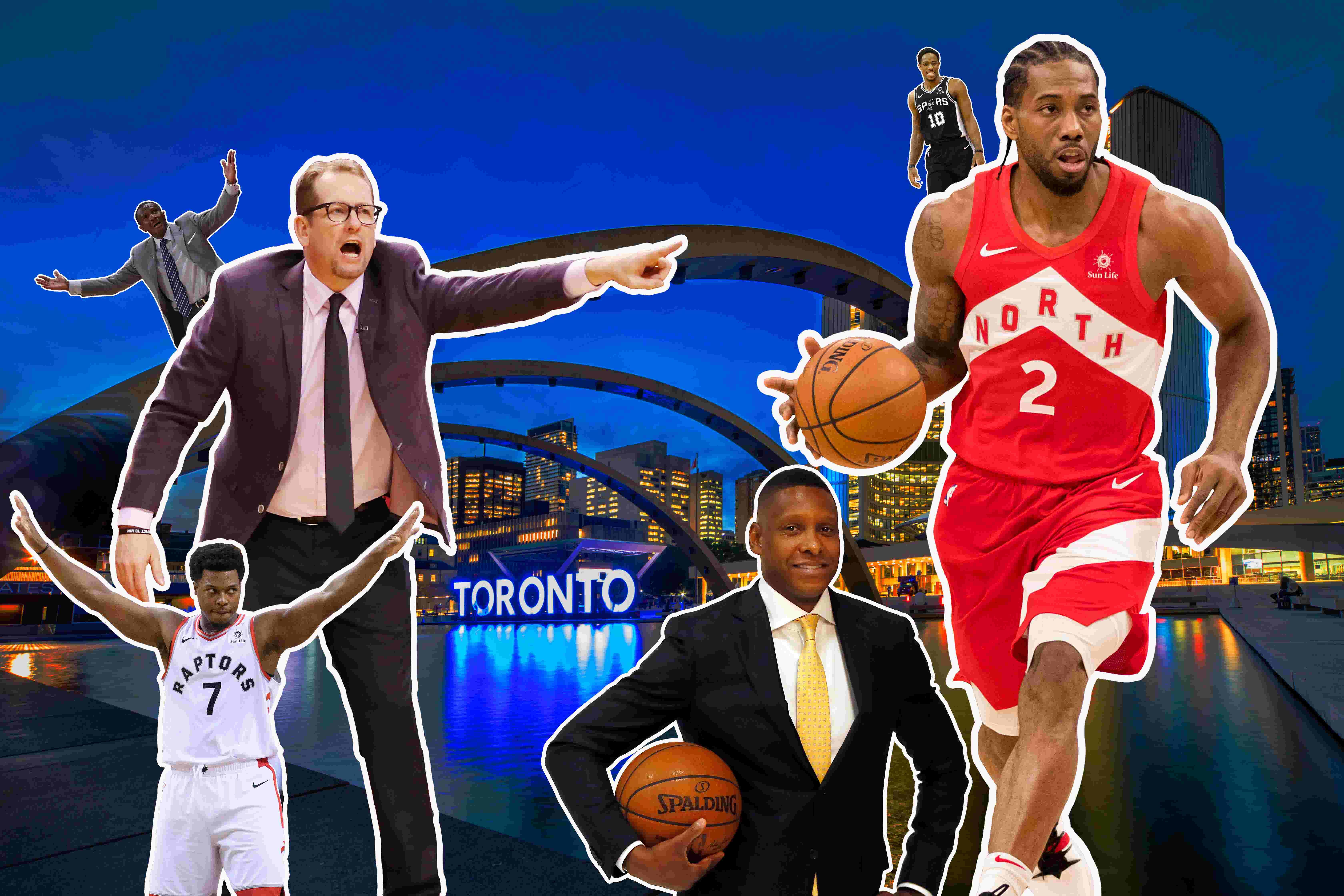 premium selection 90e1b 4c52e  People gravitate toward him   How first-year coach Nick Nurse has Raptors  in NBA Finals