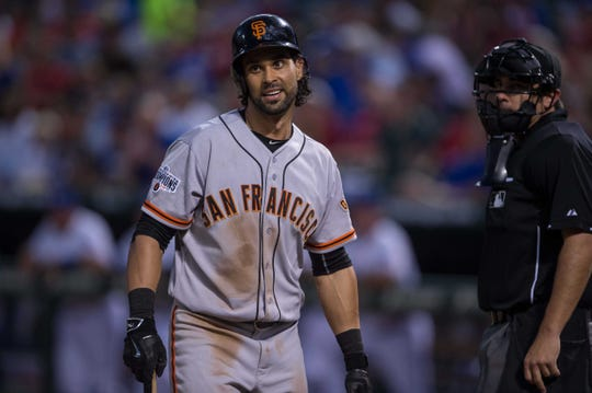 Angel Pagan played the last five of his 11 MLB seasons as a member of the San Francisco Giants.