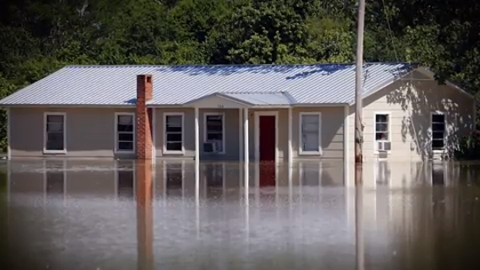Flood damage is not covered by homeowner's insurance. You must buy a separate policy for protection.