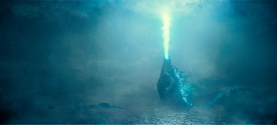 "The fan-favorite radioactive beast unleashes the fury in ""Godzilla: King of the Monsters."""