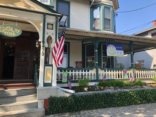 The Porch, serving crepes, smoothies, prepared sandwiches and snacks, will open soon in Ocean Grove. The restaurant is attached to Gifts By Tina on Main Avenue.