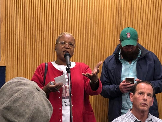 Asbury Park residents line up to oppose a plan for a private beach club.