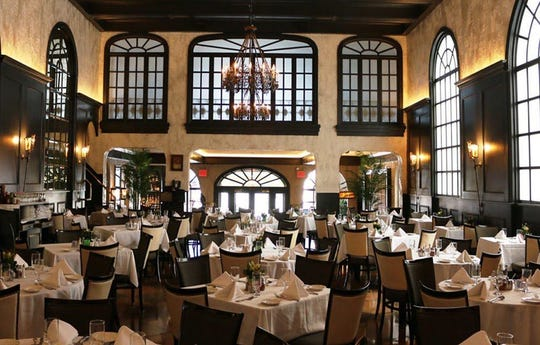 The dining room of the original Gargiulo's Restaurant in Brooklyn. The family-owned restaurant will open a second location this summer in Tinton Falls.