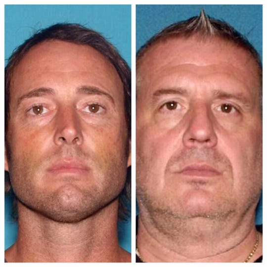Jonathan Price, 41, of Manahawkin, and Scott Cowan, 57, of Demarest, were both arrested and charged with second-degree theft May 29.