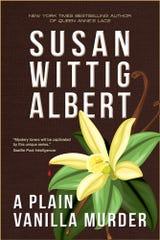 'A Plain Vanilla Murder' by Susan Wittig Albert