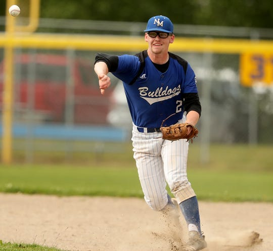 North Mason senior Brenden Kimball is the Kitsap Sun baseball player of the year for 2019. Kimball helped lead the Bulldogs to the Class 2A state tournament for the first time since 2010.