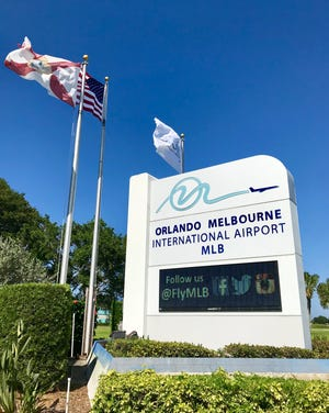 Orlando Melbourne International Airport.