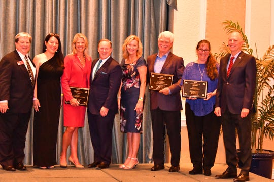 Chairman awards were given out before former White House press secretary Sean Spicer spoke at the Brevard Republican Executive Committee's 2019 Lincoln Reagan Dinner Wednesday night at the Radisson at the Port in Cape Canaveral.