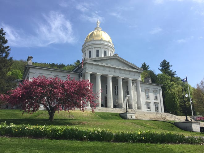 The Vermont Statehouse in Montpelier, photographed May 25, 2019.