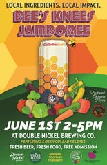 Saturday is the day to get your first taste of The Bee's Knees at Double Nickel and help fight hunger in SJ.