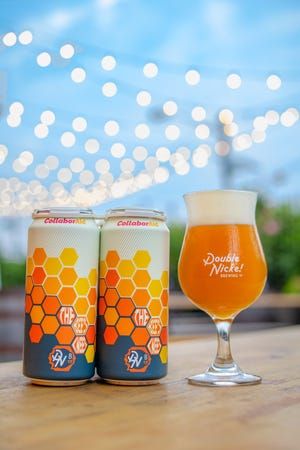 The Bee's Knees, the newest limited-edition collaboration beer from Double Nickel and partners to help fight hunger in the region, will be tapped on Saturday and available in stores soon.