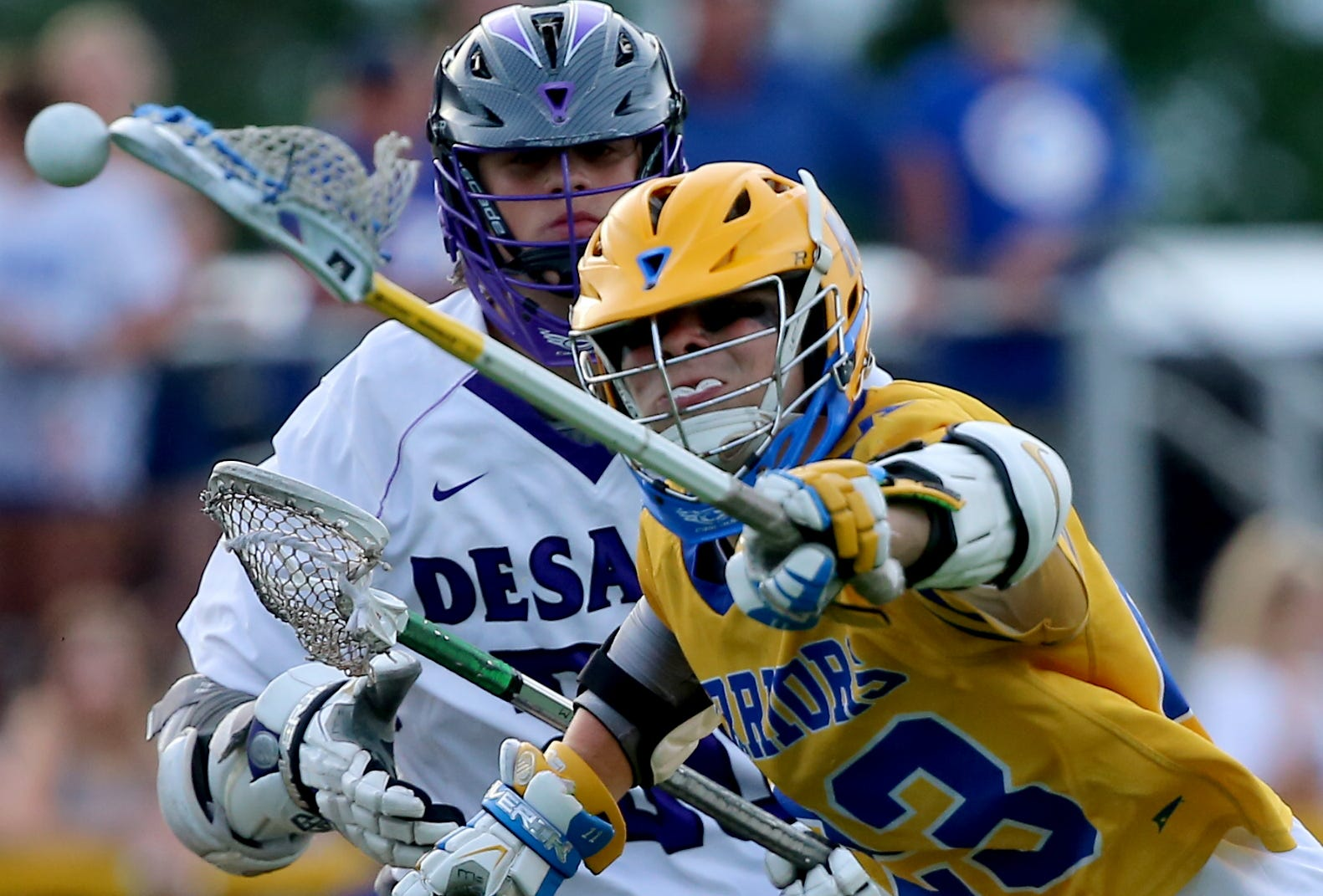 PHOTOS: Mariemont boys, girls lacrosse play St. Francis DeSales in DII state semis