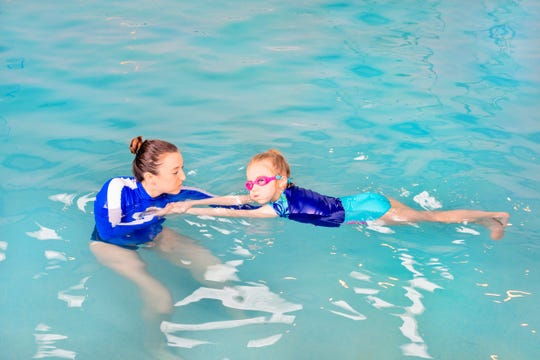 Providing critical life skills: Swim teachers help instill strong swim fundamentals and best water safety practices in children and adults alike at Njswim's locations in Warren, Florham Park, Sparta, Roxbury, and Manasquan