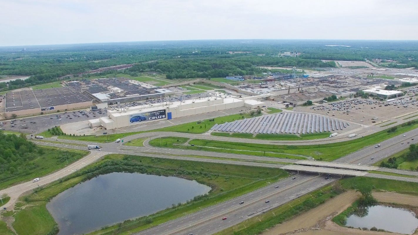 GM gets tax break for new plant next to factory it closed in Lordstown
