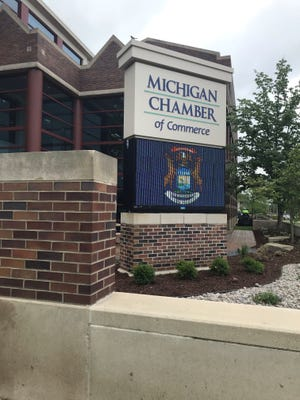 The Michigan Chamber of Commerce's headquarters in downtown Lansing.