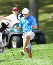 Nick Carlson made a spirited run in the U.S. Amateur Championship at Oakland Hills Country Club in 2016.