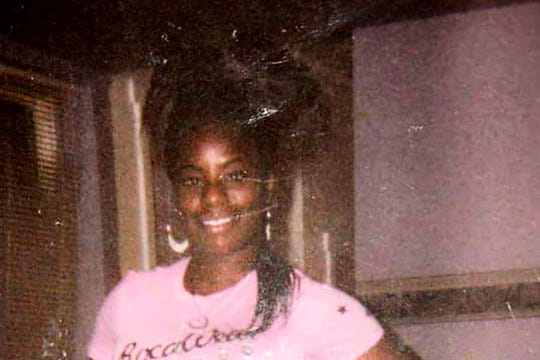 This undated family photo provided by Riccardo Holyfield shows his cousin, Reo Renee Holyfield. Her body was in a dumpster, and nobody found her for two weeks last fall. The slayings like Holyfield's that began in 2001 continued for years and remain unsolved.