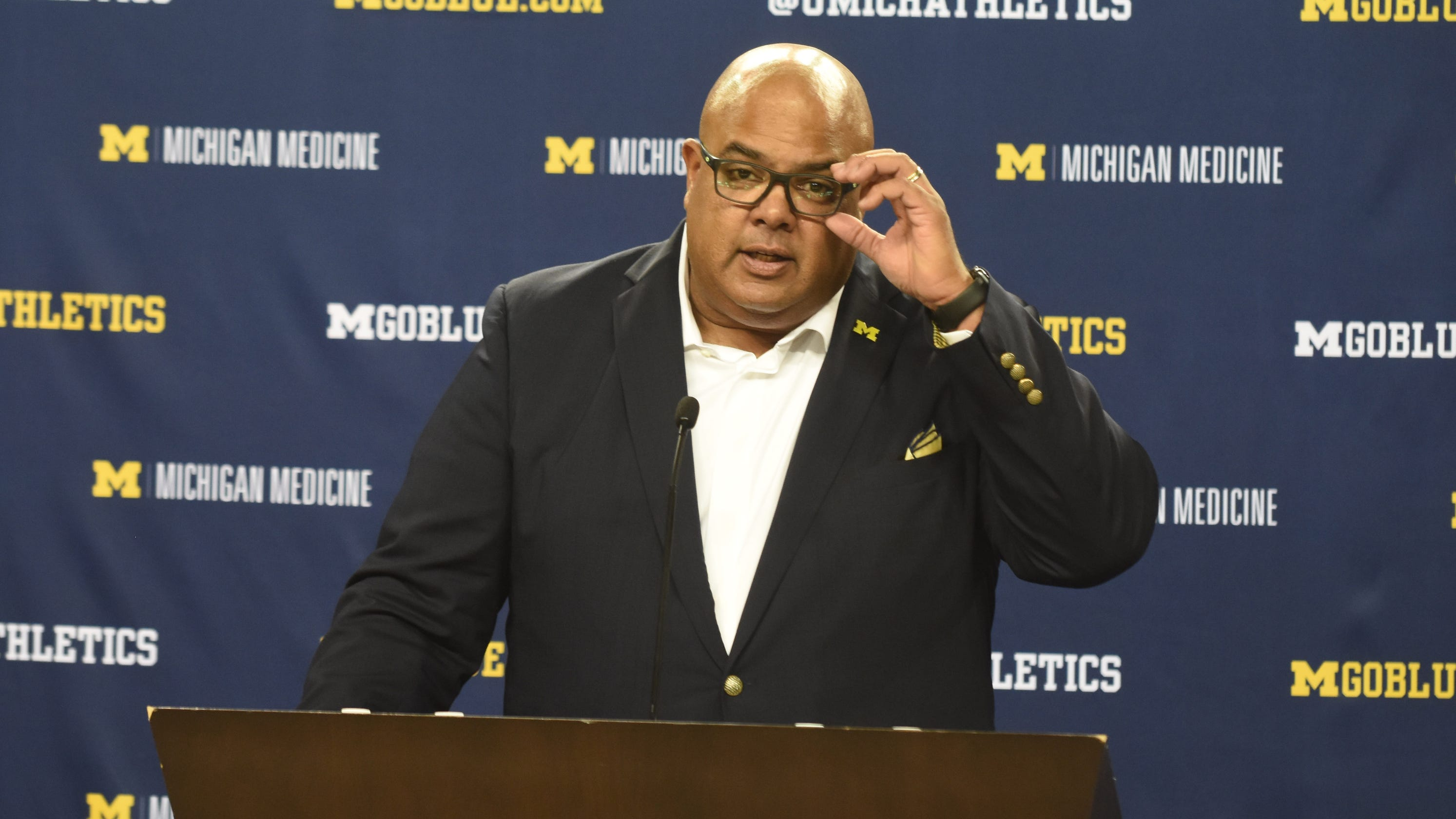 'Great news': Michigan AD Manuel backs NCAA proposal allowing one-time transfer for athletes