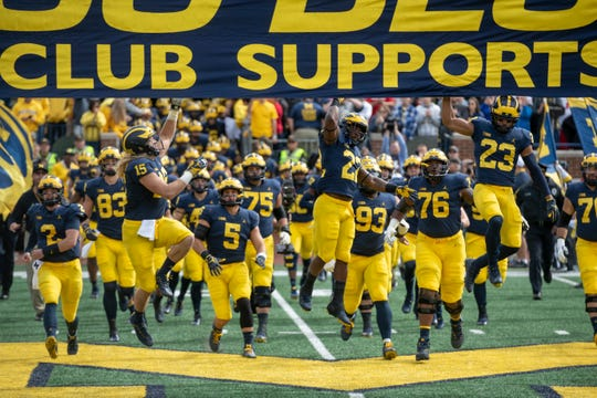 The Wolverines open this fall at Michigan Stadium against Middle Tennessee State on Aug. 31 at 7:30 p.m. It will he carried on the Big Ten Network, per a release Thursday.