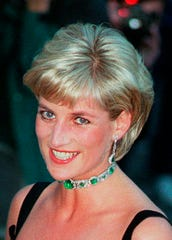 Diana, Princess of Wales, in 1997.