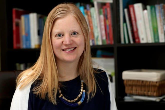Laura Boll-Peifer, a holistic health and running coach, in her office in West Orange, N.J.